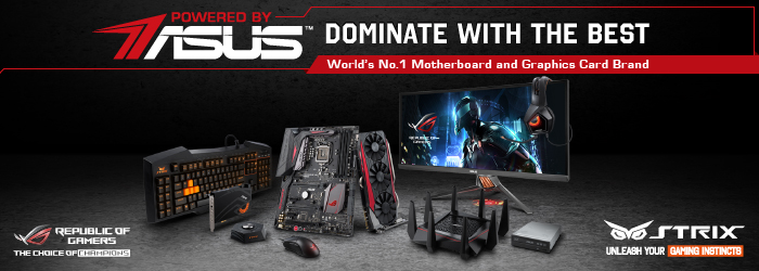 Plonter ROG PBA Page (Powered by ASUS